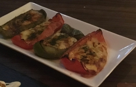 Peppers and cheese