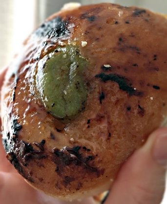 Pistachio creme brûlée